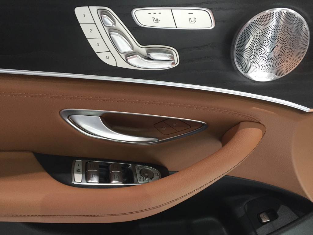 Image 2017 mercedes benz e class 2016 detroit auto show for Mercedes benz e class 2016 vs 2017