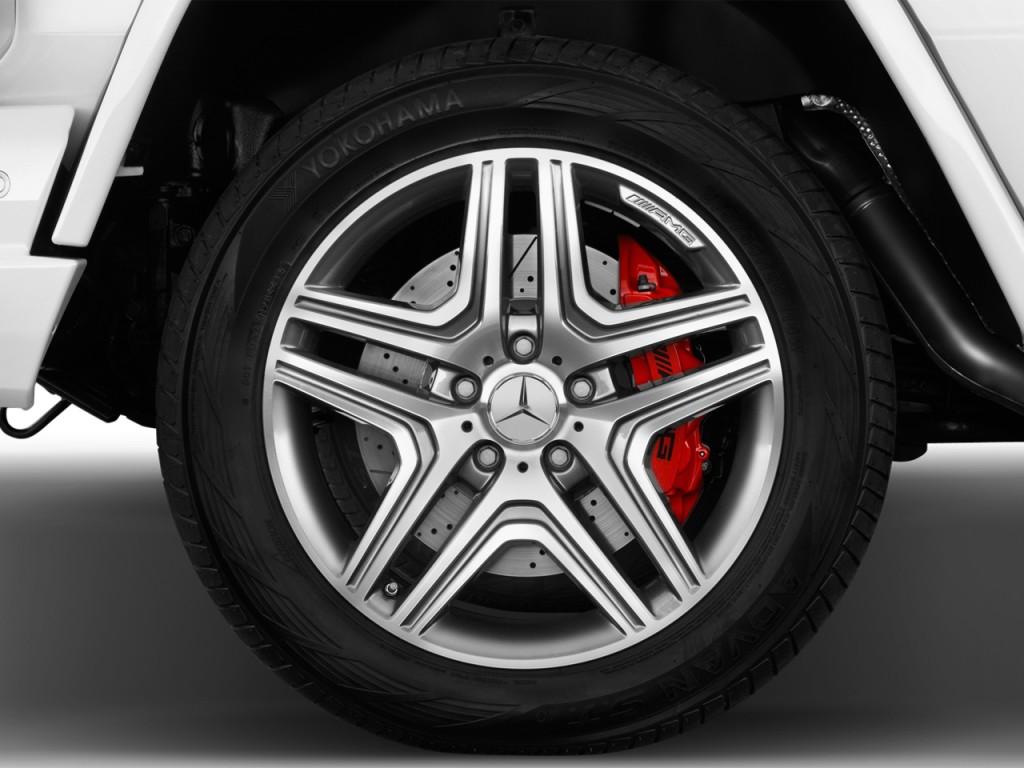 Image: 2017 Mercedes-Benz G Class AMG G63 4MATIC SUV Wheel ...