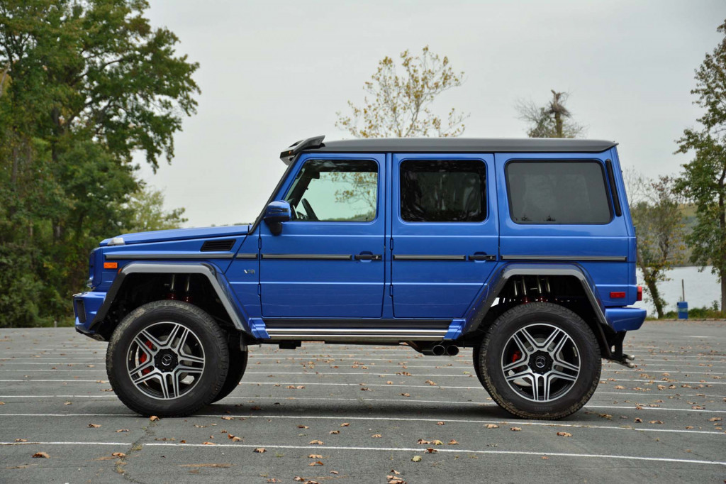 Cheapest Car On Gas >> Image: 2017 Mercedes-Benz G550 4x4 Squared, size: 1024 x 682, type: gif, posted on: November 1 ...