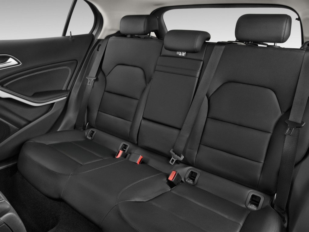 image 2017 mercedes benz gla gla250 suv rear seats size 1024 x 768 type gif posted on. Black Bedroom Furniture Sets. Home Design Ideas