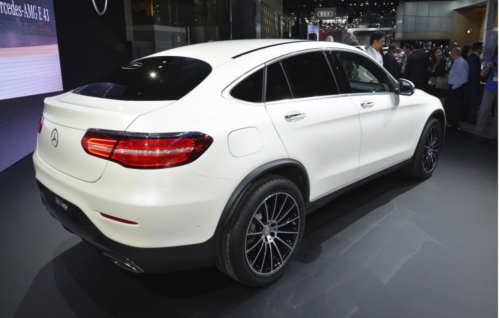 Image 2017 mercedes benz glc coupe 2016 new york auto - Mercedes car show ...