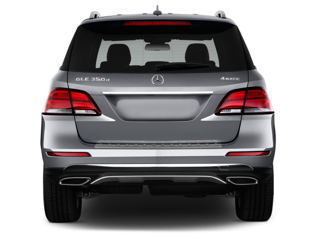 Image 2017 Mercedes Benz Gle Gle350 4matic Suv Rear