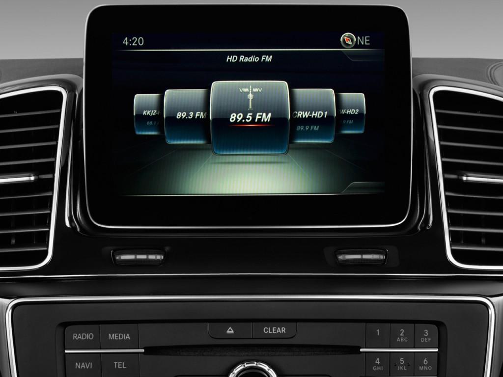 Image 2017 mercedes benz gle gle550e 4matic suv audio for Mercedes benz car audio