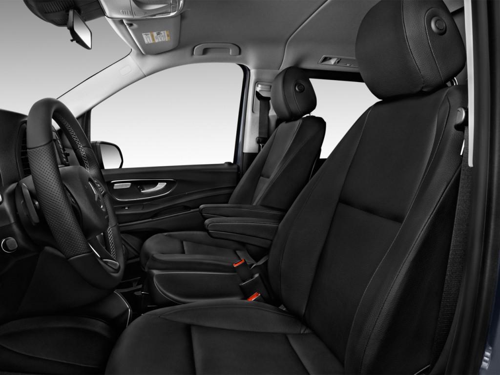 image 2017 mercedes benz metris passenger van standard roof 126 wheelbase front seats size. Black Bedroom Furniture Sets. Home Design Ideas