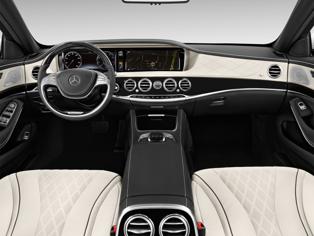 Image 2017 mercedes benz s class maybach s600 sedan for Mercedes benz dashboard