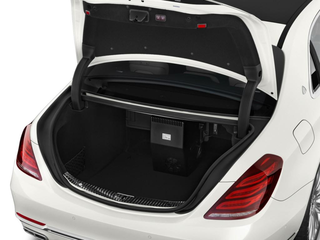 Image: 2017 Mercedes-Benz S Class Maybach S600 Sedan Trunk ...