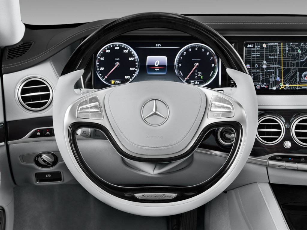 Mercedes Benz Of Portland >> Image: 2017 Mercedes-Benz S Class S 550e Plug-In Hybrid Sedan Steering Wheel, size: 1024 x 768 ...