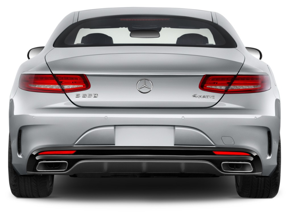 Image 2017 Mercedes Benz S Class S550 4matic Coupe Rear