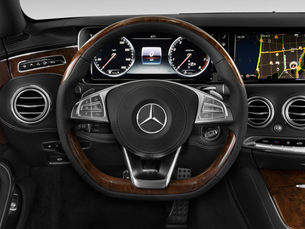 Image 2017 Mercedes Benz S Class S550 4matic Coupe Steering Wheel Size 1024 X 768 Type Gif