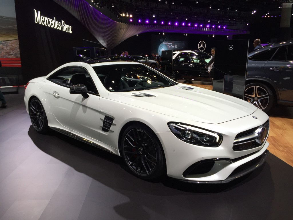 Image 2017 Mercedes Amg Sl63 2015 Los Angeles Auto Show Size 1024 X 768 Type Gif Posted