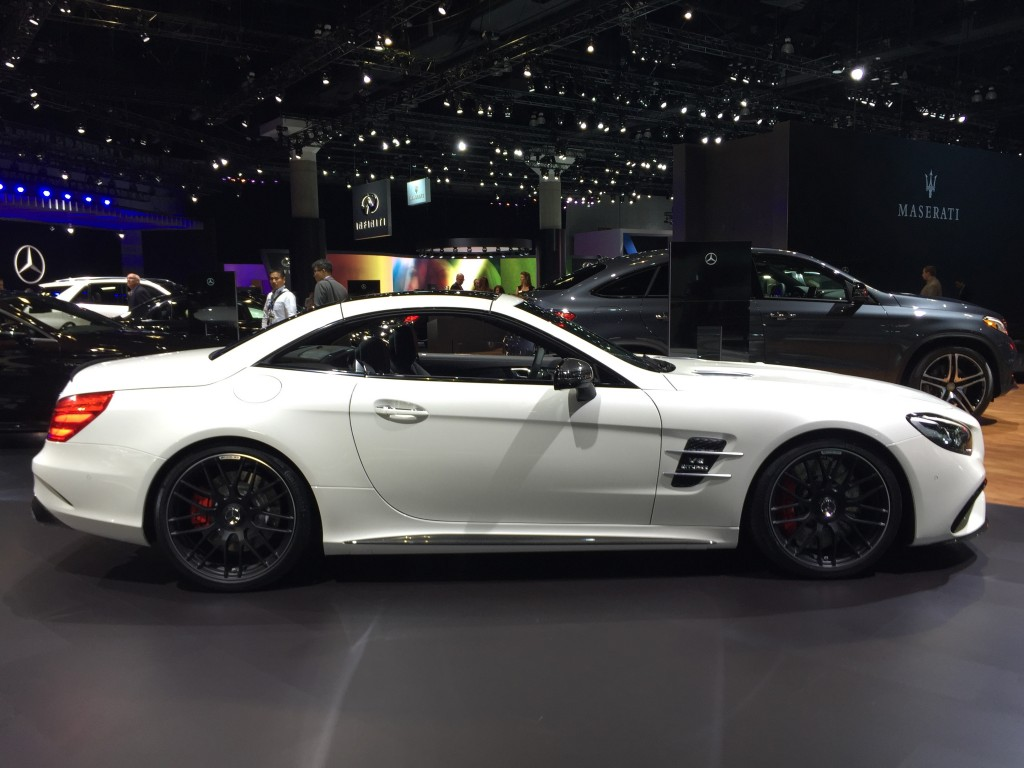 2017 mercedes amg sl63 2015 los angeles auto show