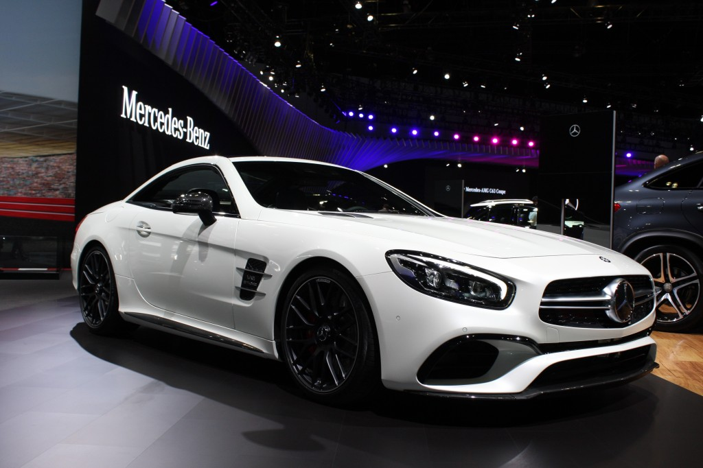 2017 Mercedes Amg Sl63 Los Angeles Auto Show
