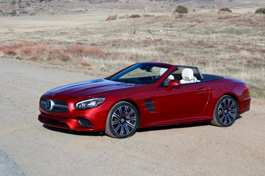 Image 2017 Mercedes Benz Sl450 First Drive Size 1024