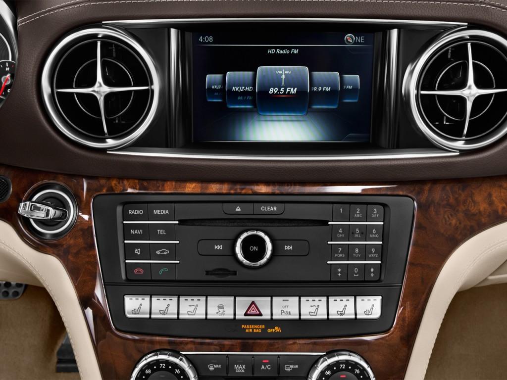 Image: 2017 Mercedes-Benz SL SL450 Roadster Audio System ...