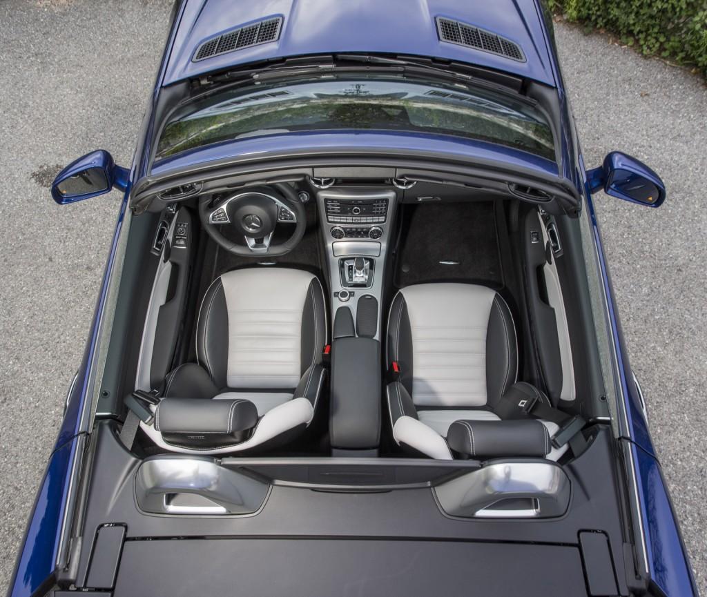 Road Test 2020 Toyota Corolla Hybrid: Image: 2017 Mercedes-Benz SLC300, Size: 1024 X 865, Type