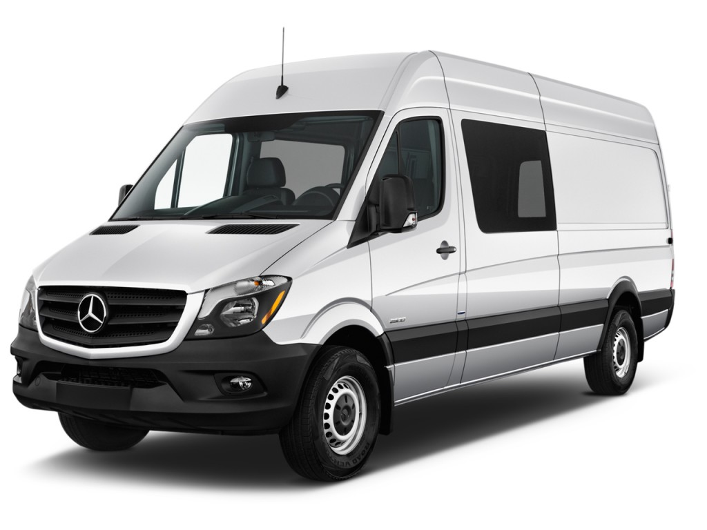 image 2017 mercedes benz sprinter crew van 2500 high roof v6 170 rwd angular front exterior. Black Bedroom Furniture Sets. Home Design Ideas