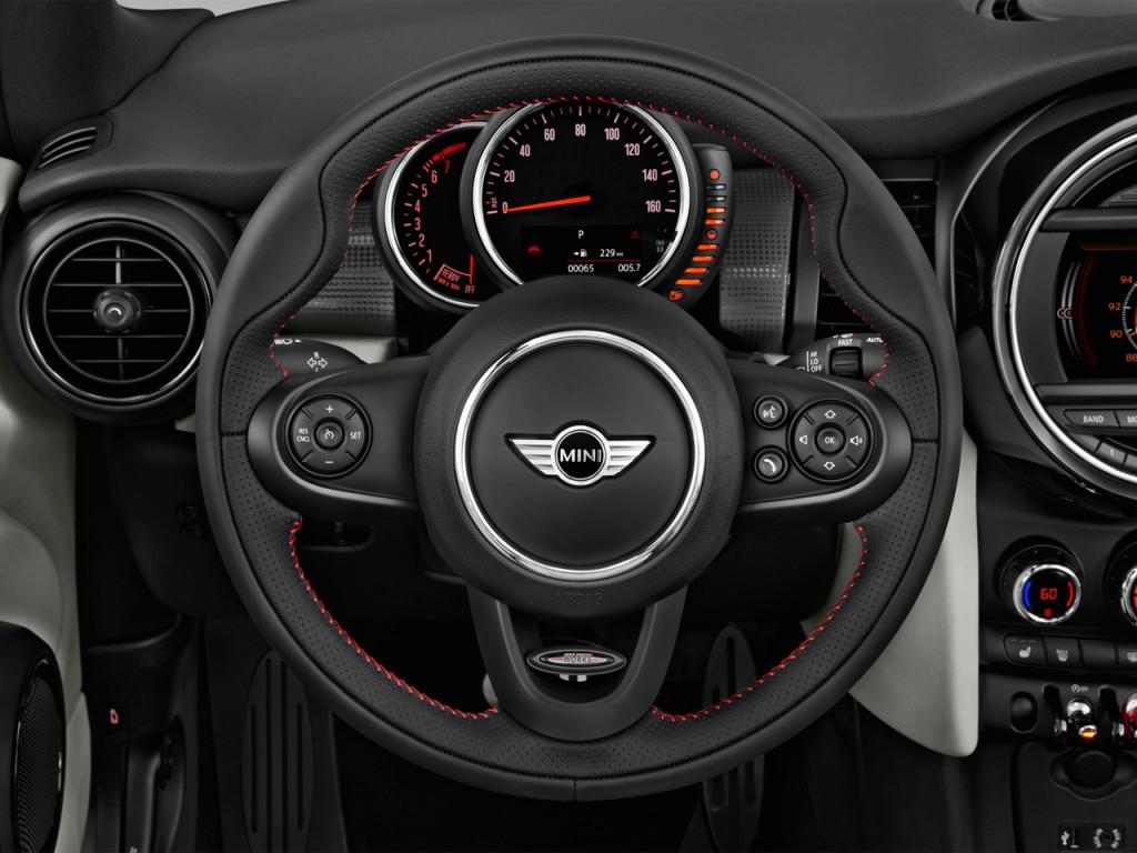2017 Moss Motors Mercedes Benz For Sale >> Image: 2017 MINI Convertible Cooper 2 Door Steering Wheel, size: 1024 x 768, type: gif, posted ...