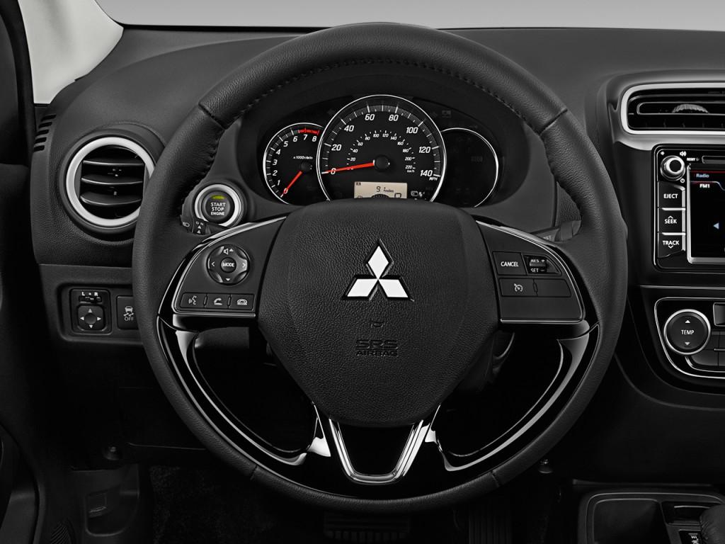 Image: 2017 Mitsubishi Mirage G4 SE CVT Steering Wheel ...