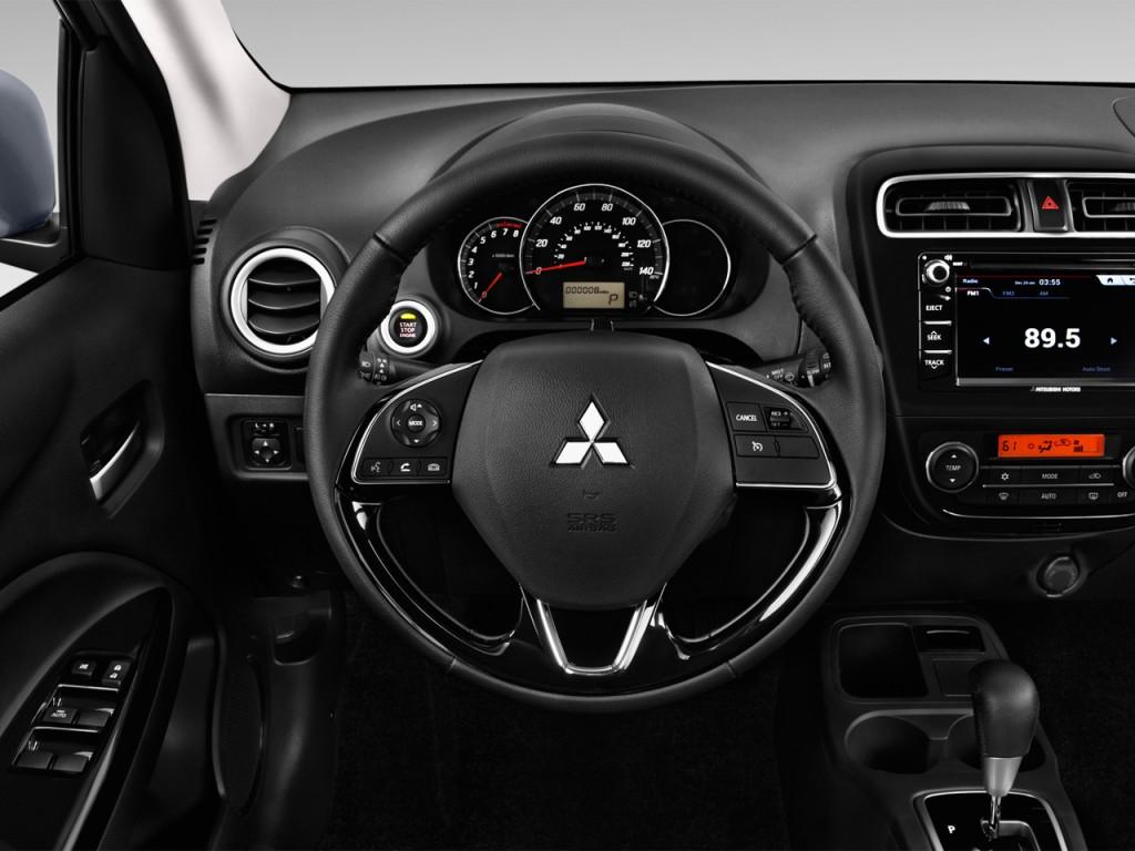image 2017 mitsubishi mirage se manual steering wheel