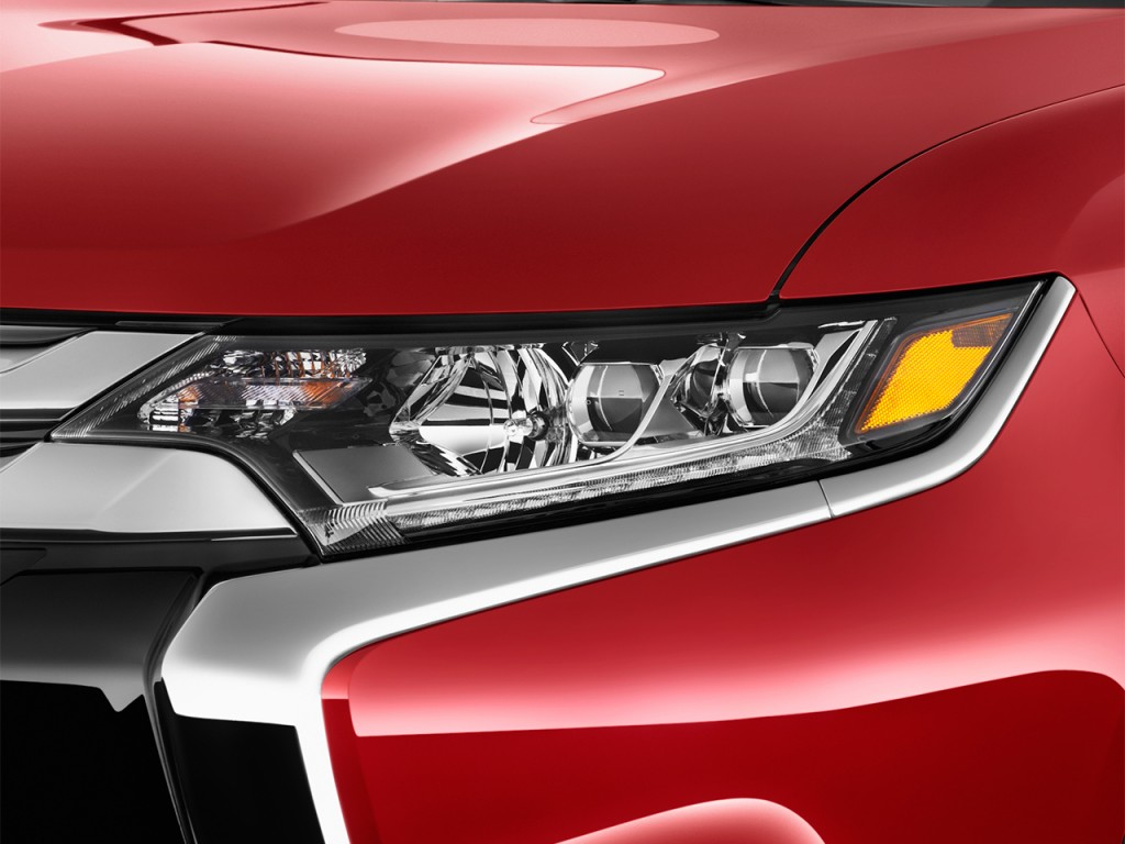 Cadillac Escala Cost >> Image: 2017 Mitsubishi Outlander GT S-AWC Headlight, size ...