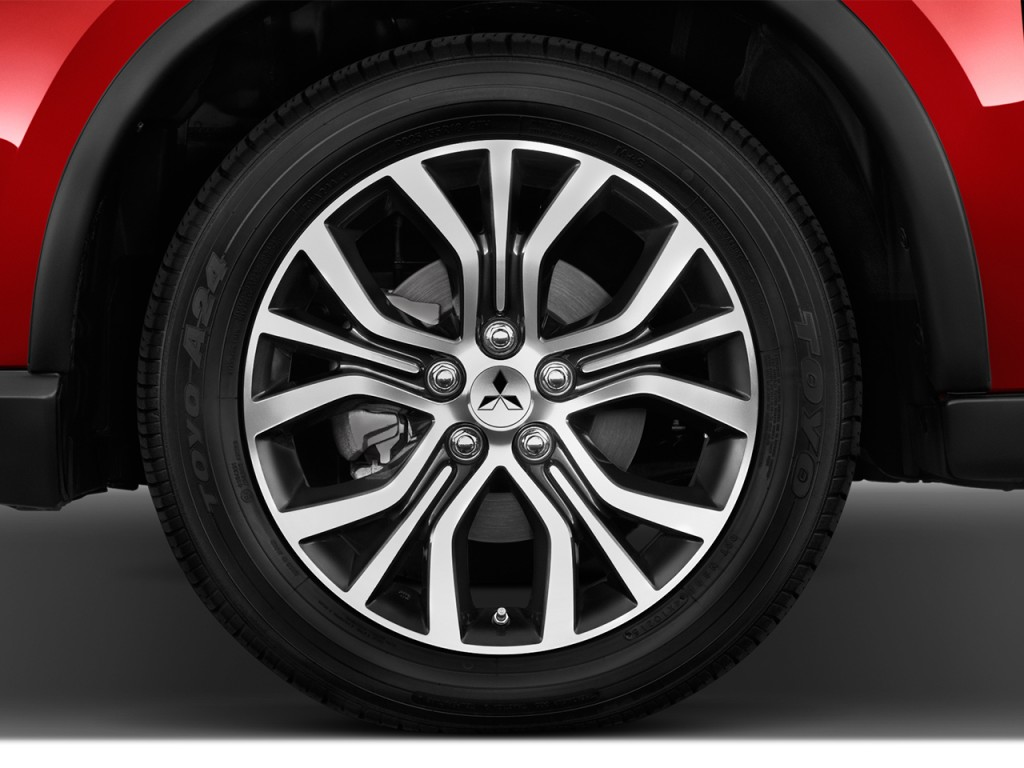 Honda Pilot Gas Mileage >> Image: 2017 Mitsubishi Outlander GT S-AWC Wheel Cap, size: 1024 x 768, type: gif, posted on ...