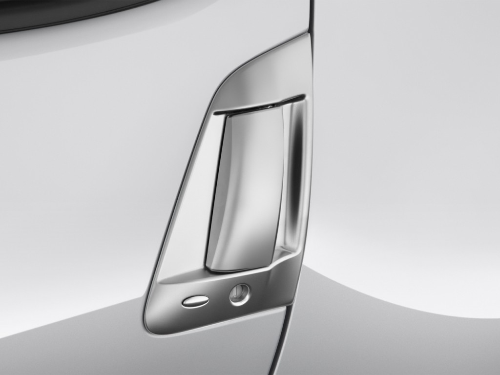 Image: 2017 Nissan 370Z Coupe Manual Door Handle, size ...