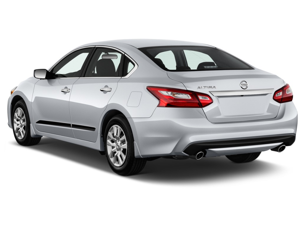 Image 2017 Nissan Altima 2 5 S Angular Rear Exterior View