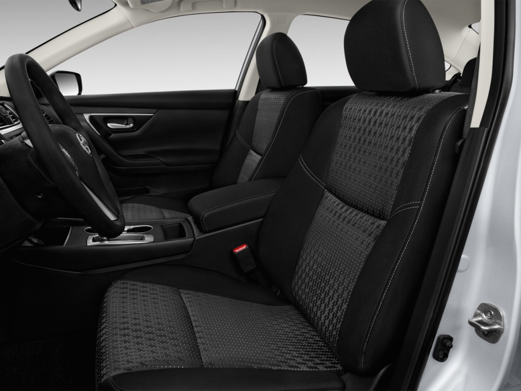 Image: 2017 Nissan Altima 2.5 S Front Seats, size: 1024 x ...