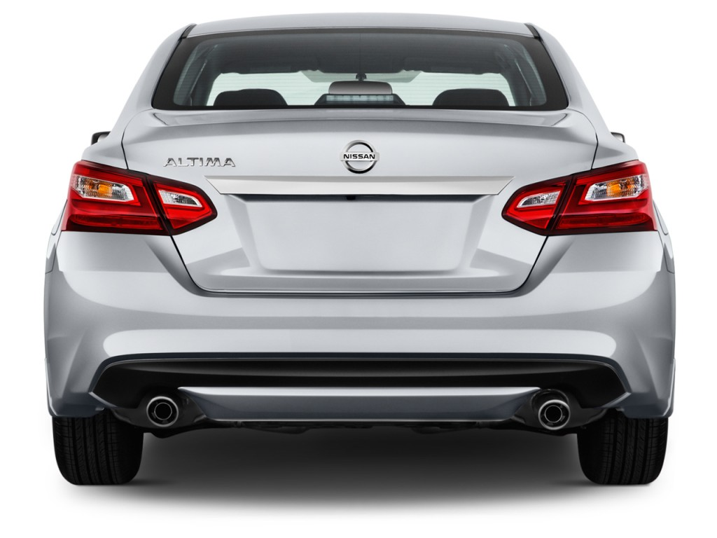 Image 2017 Nissan Altima 2 5 S Rear Exterior View Size