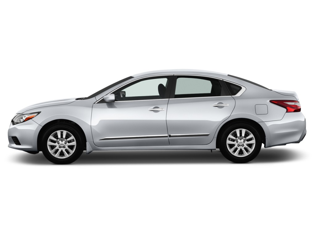 Image 2017 Nissan Altima 2 5 S Side Exterior View Size
