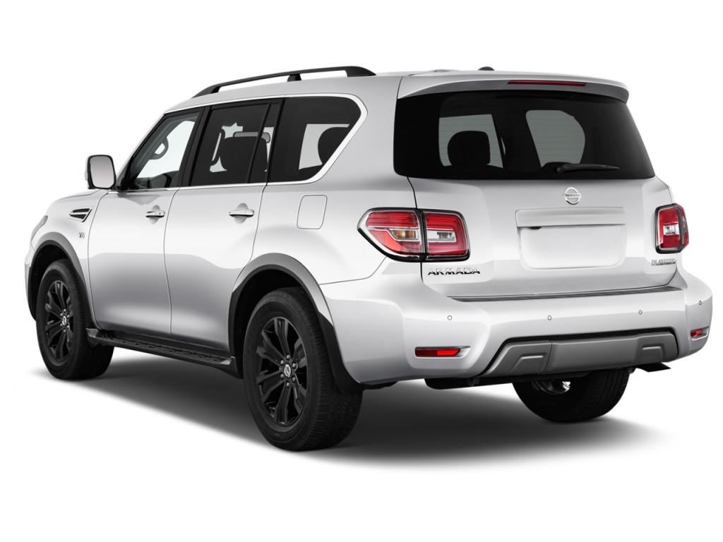 Nissan Armada Lease >> Image: 2017 Nissan Armada 4x4 Platinum Angular Rear Exterior View, size: 1024 x 768, type: gif ...