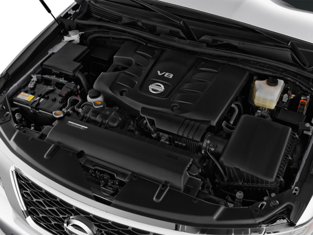 Image: 2017 Nissan Armada 4x4 Platinum Engine, size: 1024 ...