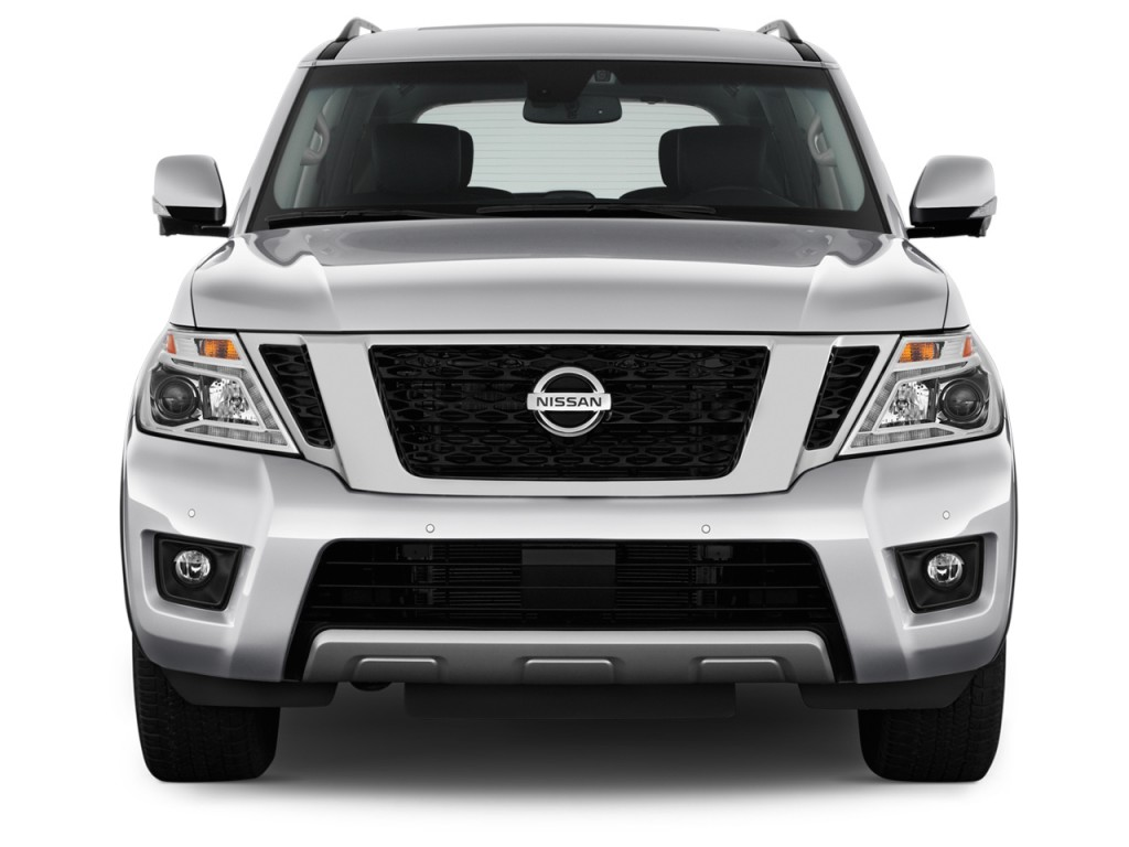 image 2017 nissan armada 4x4 platinum front exterior view. Black Bedroom Furniture Sets. Home Design Ideas