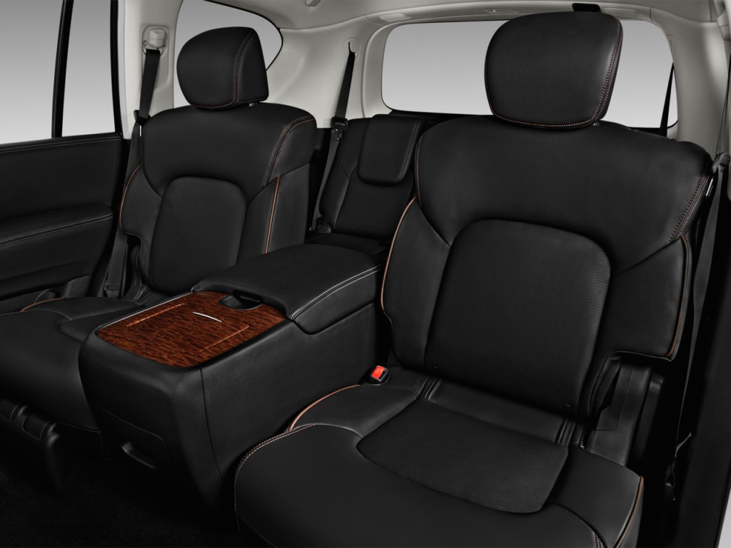 image 2017 nissan armada 4x4 platinum rear seats size 1024 x 768 type gif posted on. Black Bedroom Furniture Sets. Home Design Ideas