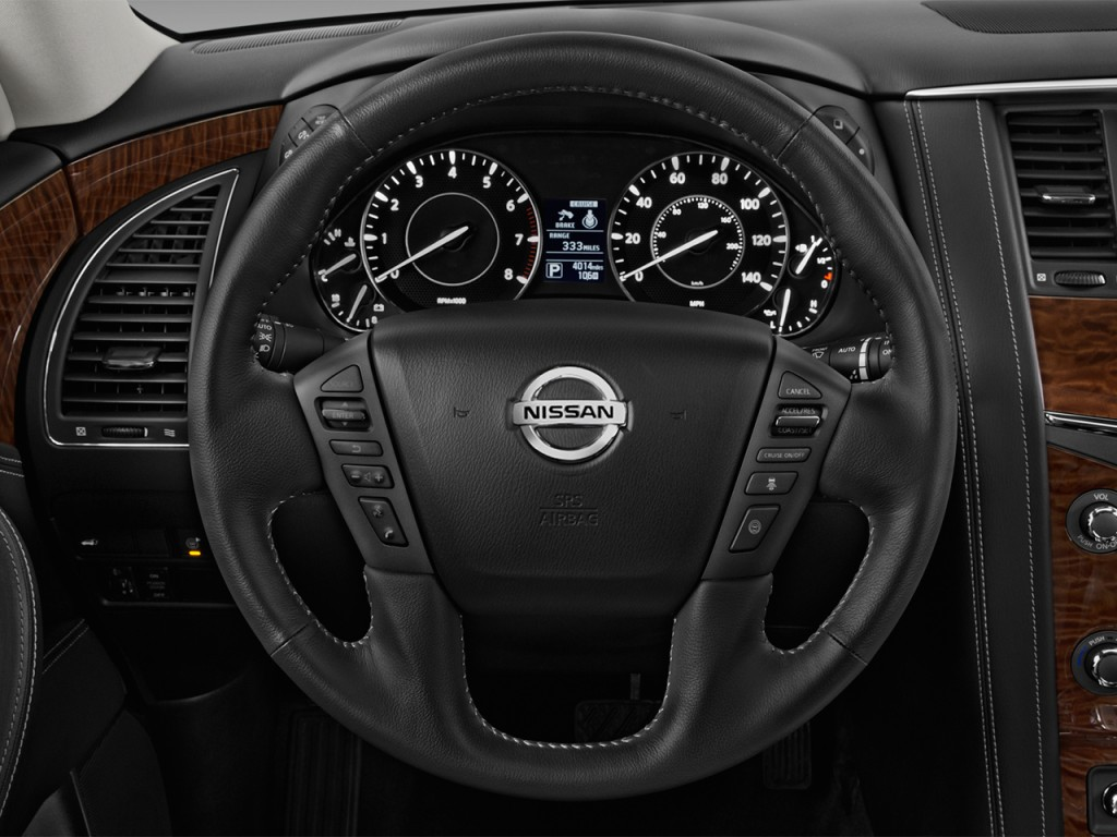 image 2017 nissan armada 4x4 platinum steering wheel size 1024 x 768 type gif posted on. Black Bedroom Furniture Sets. Home Design Ideas