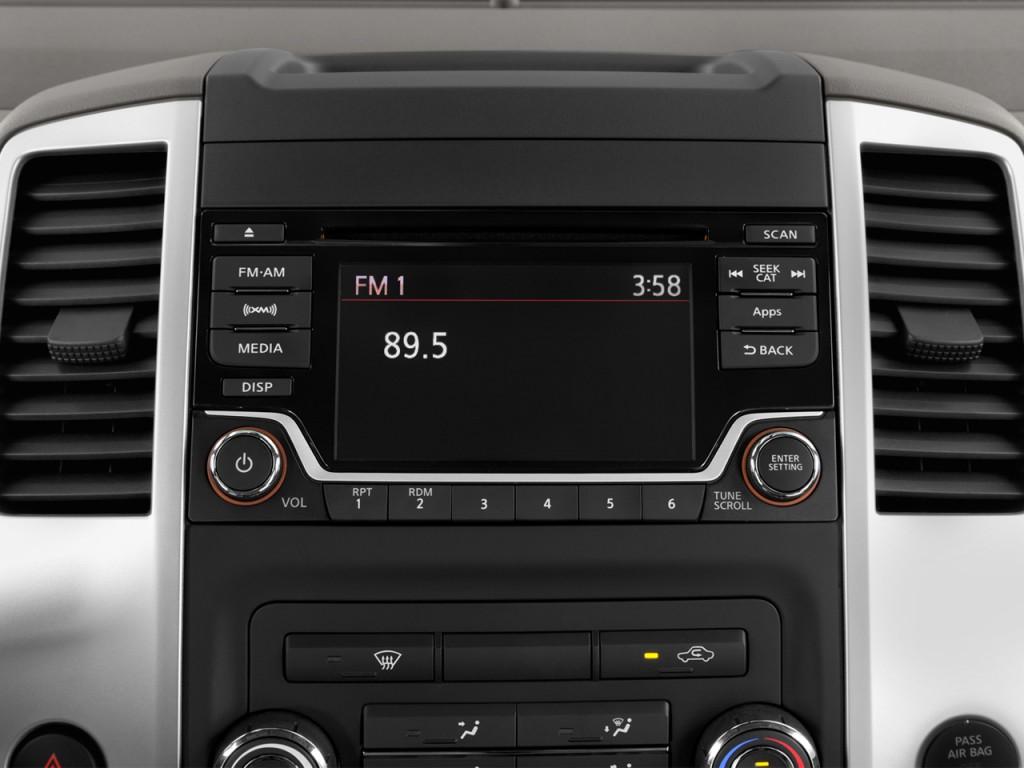 Image: 2017 Nissan Frontier Crew Cab 4x2 SV V6 Auto Audio ...