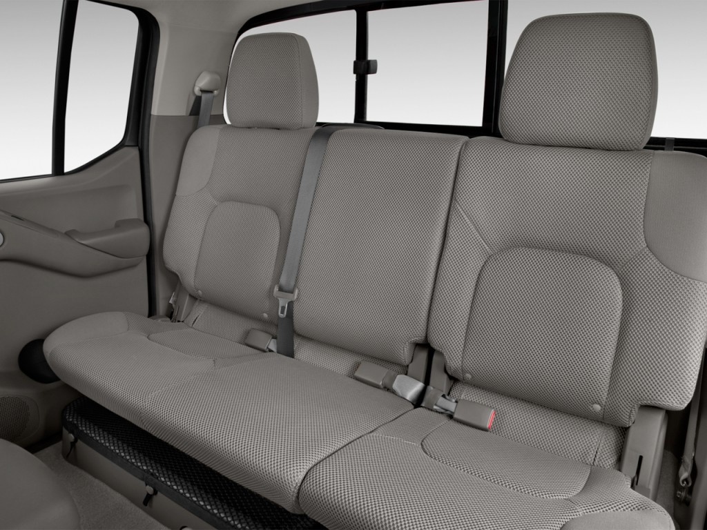 Image 2017 Nissan Frontier Crew Cab 4x2 Sv V6 Auto Rear Seats Size 1024 X 768 Type Gif