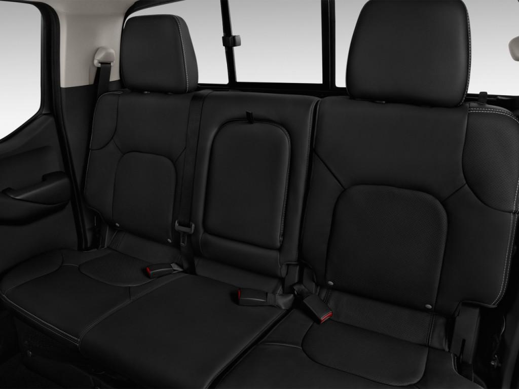 Image 2017 Nissan Frontier Crew Cab 4x4 Pro 4x Auto Rear