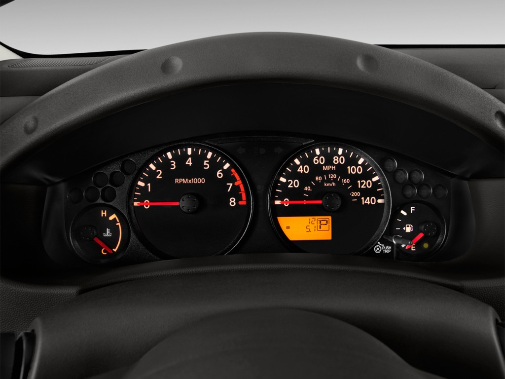Image: 2017 Nissan Frontier King Cab 4x2 S Auto Instrument ...