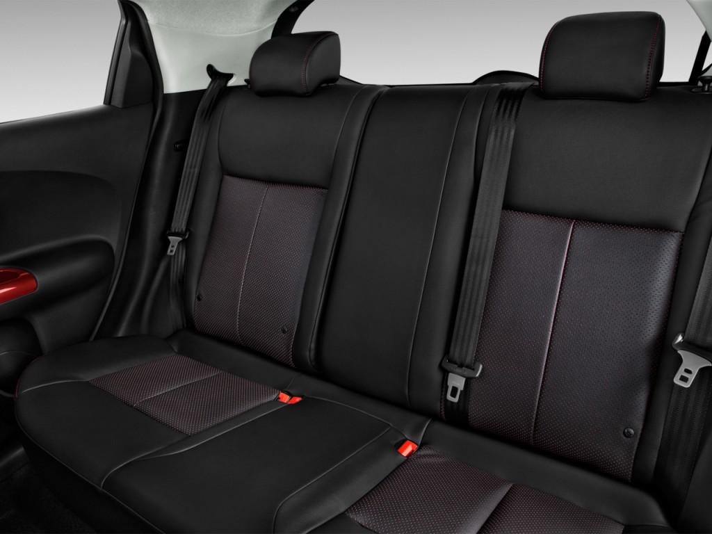 Image: 2017 Nissan Juke FWD SL Rear Seats, size: 1024 x ...