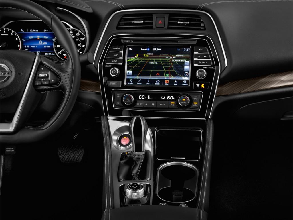 Image: 2017 Nissan Maxima Platinum 3.5L Instrument Panel ...