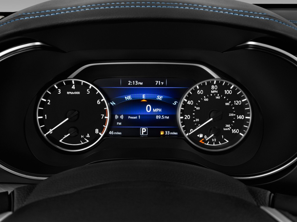 Image: 2017 Nissan Maxima S 3.5L Instrument Cluster, size ...