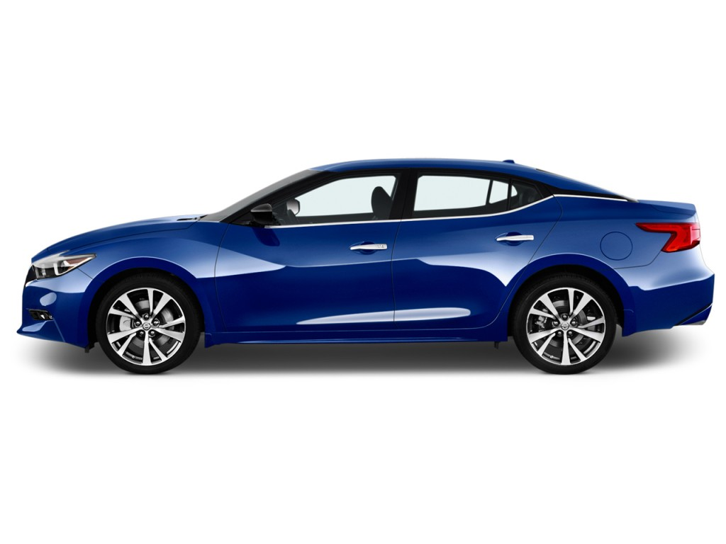 Image 2017 Nissan Maxima S 3 5l Side Exterior View Size