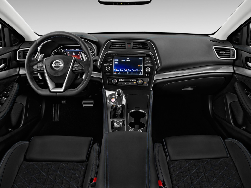 Image 2017 Nissan Maxima Sr 3 5l Dashboard Size 1024 X