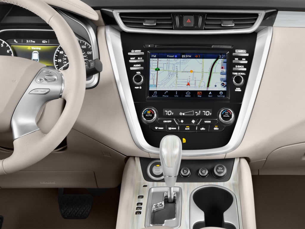 2018 Nissan Rogue Sport >> Image: 2017 Nissan Murano FWD Platinum Instrument Panel, size: 1024 x 768, type: gif, posted on ...