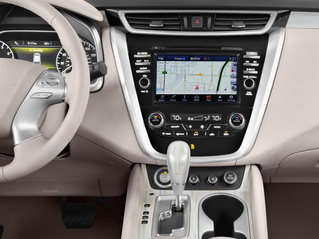 Image: 2017 Nissan Murano FWD Platinum Instrument Panel ...