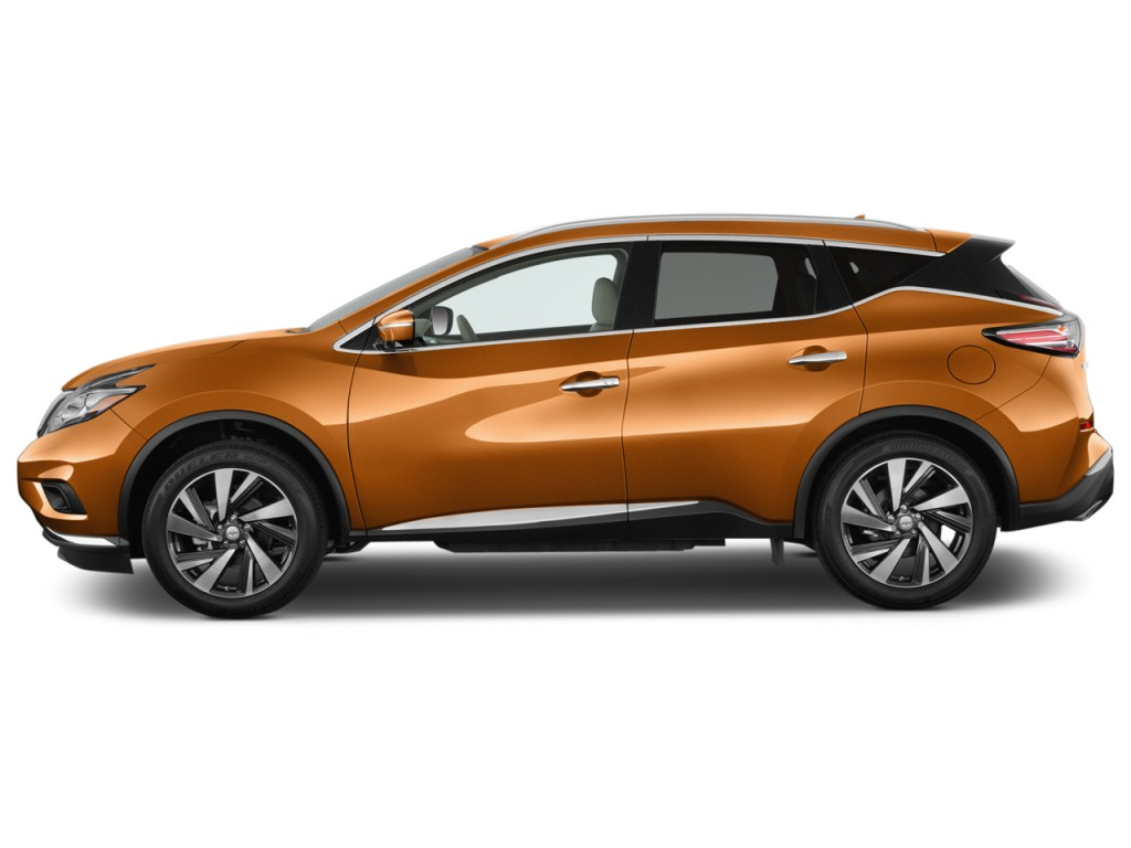 Image 2017 Nissan Murano Fwd Platinum Side Exterior View