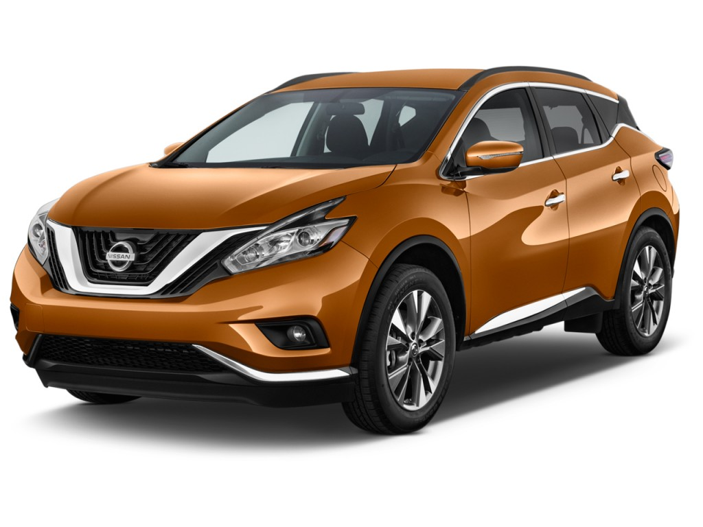 Image 2017 Nissan Murano Fwd Sv Angular Front Exterior