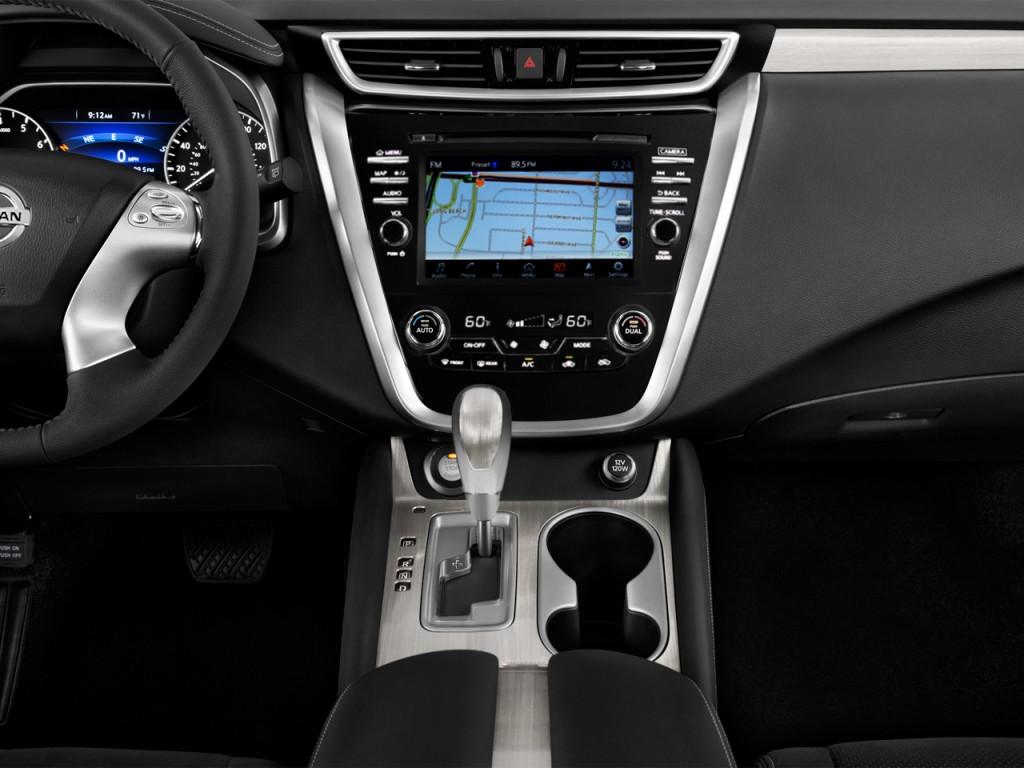 Image: 2017 Nissan Murano FWD SV Instrument Panel, size ...