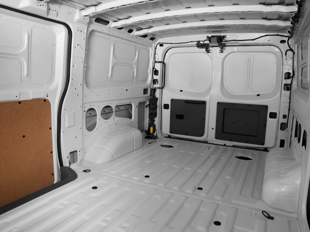 Image: 2017 Nissan NV Cargo NV1500 Standard Roof S V6 Rear ...